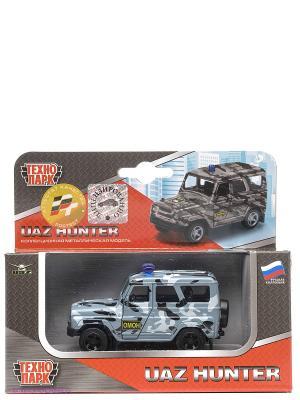 Машина Технопарк УАЗ hunter омон. Цвет: серый