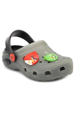 Пантолеты купальные Angry Birds. Цвет: серый