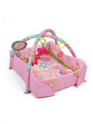 Игровой коврик YAKO. Цвет: бледно-розовый