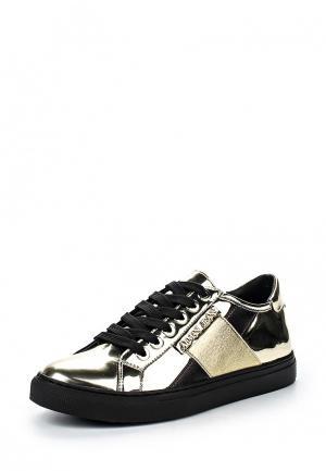 Кеды Armani Jeans. Цвет: золотой