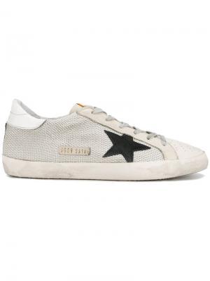 Кеды Superstar Golden Goose Deluxe Brand. Цвет: серый
