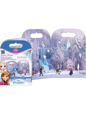 Игровой набор с прилипашками Ледяной лес Делай мамой. Цвет: голубой