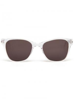 Солнцезащитные очки Prism. Цвет: белый