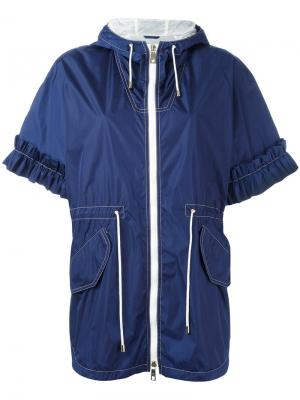 Cropped sleeves jacket Fay. Цвет: синий