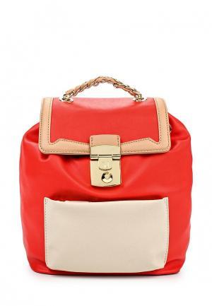 Рюкзак Trussardi Jeans. Цвет: красный