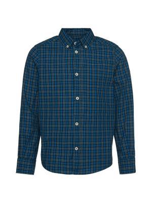 Рубашка TOM TAILOR. Цвет: темно-зеленый