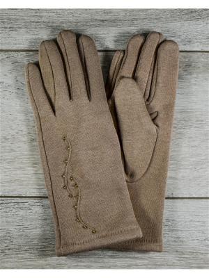 Перчатки Versal. Цвет: терракотовый