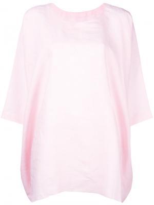 Shift top Daniela Gregis. Цвет: розовый и фиолетовый