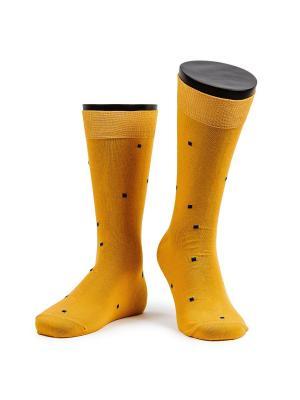Art of color носки мужские MARREY. Цвет: желтый