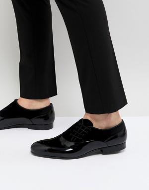 House of Hounds Лакированные оксфордские туфли. Цвет: черный