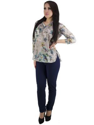 Блузка OROBLU. Цвет: бежевый