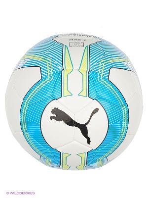 Мяч тренировочный evoPOWER 6.3 Trainer MS Puma. Цвет: голубой, белый