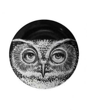 Декоративная тарелка FORNASETTI. Цвет: черный