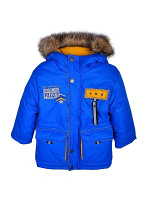 Куртка WOW. Цвет: голубой