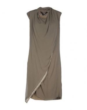 Короткое платье NICOLAS & MARK. Цвет: зеленый-милитари