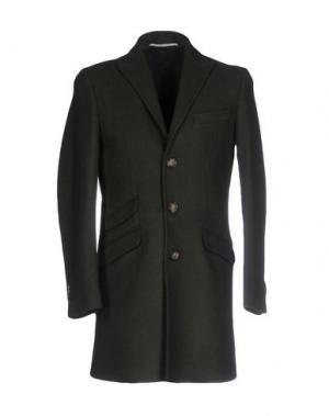 Пальто EXIBIT. Цвет: темно-зеленый