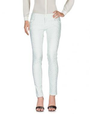 Повседневные брюки SHAFT DELUXE. Цвет: светло-зеленый