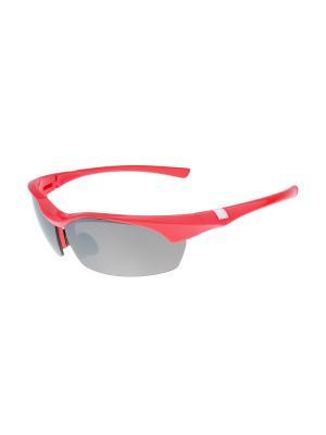 Солнцезащитные очки Gusachi. Цвет: красный, черный