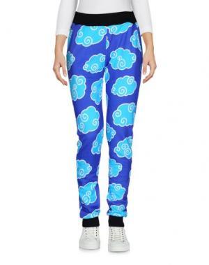 Повседневные брюки 10X10 ANITALIANTHEORY. Цвет: синий
