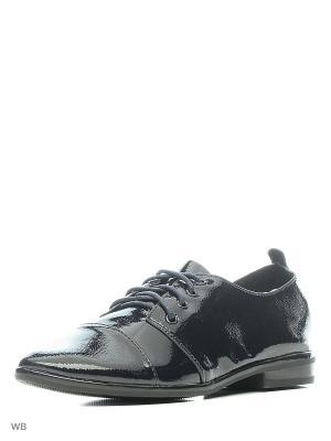 Туфли HUADA. Цвет: черный