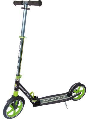 Самокат TT 230 Sport Pro зелёный Tech Team. Цвет: зеленый