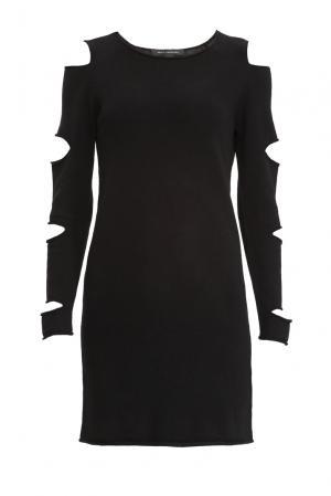 Кашемировое платье SF-156250 Skull Cashmere. Цвет: черный