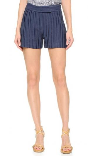 Идеально скроенные шорты Tropicana Veronica Beard. Цвет: темно-синий