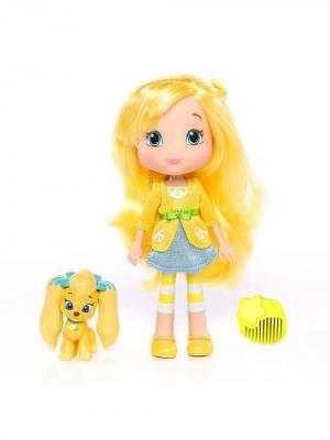 Игрушка Шарлотта Земляничка Кукла Лимона с питомцем, 15 см, кор. The Bridge. Цвет: желтый