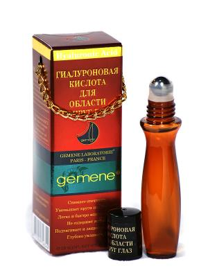 Гиалуроновая кислота для области вокруг глаз, 12 мл Gemene. Цвет: прозрачный