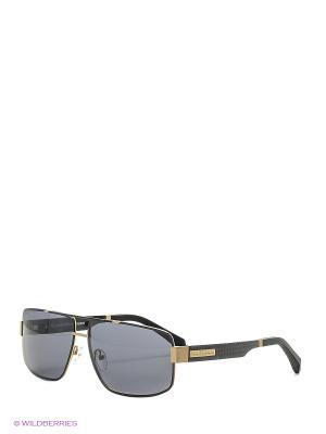 Солнцезащитные очки BLD 1635 401 GB SIGNATURE Baldinini. Цвет: золотистый, черный