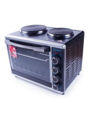 Плита с печью Endever. Цвет: черный