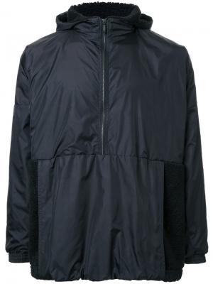 Куртка с капюшоном и эластичными манжетами Cottweiler. Цвет: чёрный