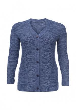 Кардиган Milana Style. Цвет: голубой