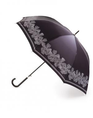 Зонт-трость автомат Банты Henry Backer. Цвет: серый
