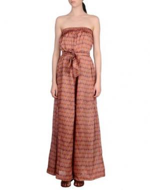 Пляжные брюки и шорты MARZIA GENESI SEA. Цвет: пурпурный
