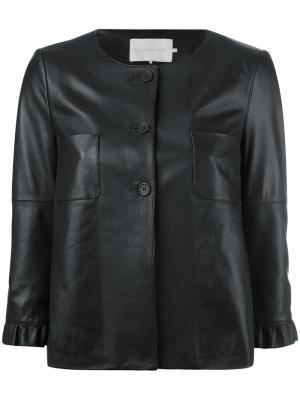 Пиджак Rouches  LAutre Chose L'Autre. Цвет: чёрный