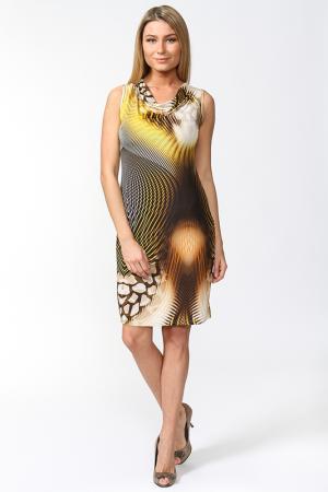 Платье Carla B. Цвет: желтый