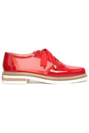Туфли Mara. Цвет: красный