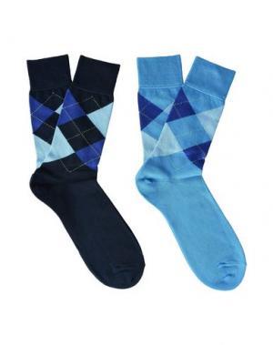 Короткие носки BURLINGTON. Цвет: синий