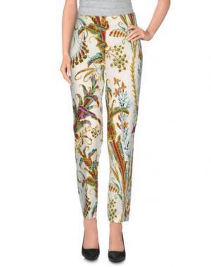 Повседневные брюки PHILOSOPHY DI LORENZO SERAFINI. Цвет: белый