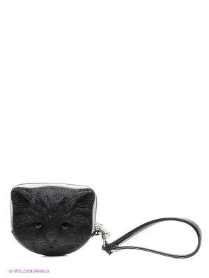 Сумка Adamo 3DTuna Kitten. Цвет: черный