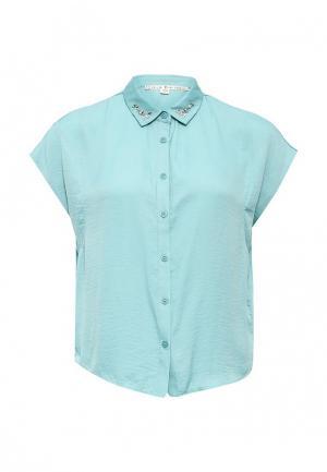 Блуза Y by Yumi. Цвет: бирюзовый