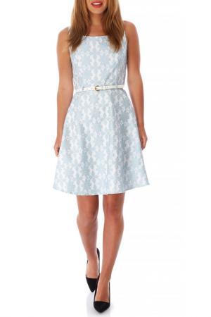 Платье Mela london. Цвет: голубой