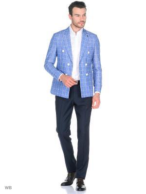 Пиджак BAWER. Цвет: синий
