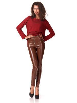 Леггинсы Leya. Цвет: коричневый