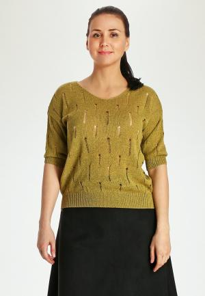 Пуловер Marissimo. Цвет: хаки