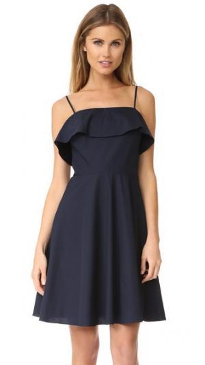 Платье Minnie Amanda Uprichard. Цвет: темно-синий