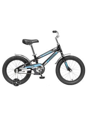Велосипед 16 DODGER NOVATRACK. Цвет: черный