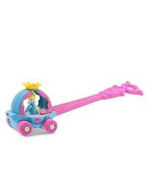 Disney  Волшебная Карета Золушки CHICCO. Цвет: розовый, голубой, желтый