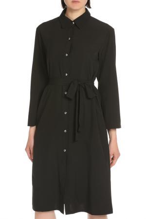 Платье SARTORI DODICI. Цвет: черный